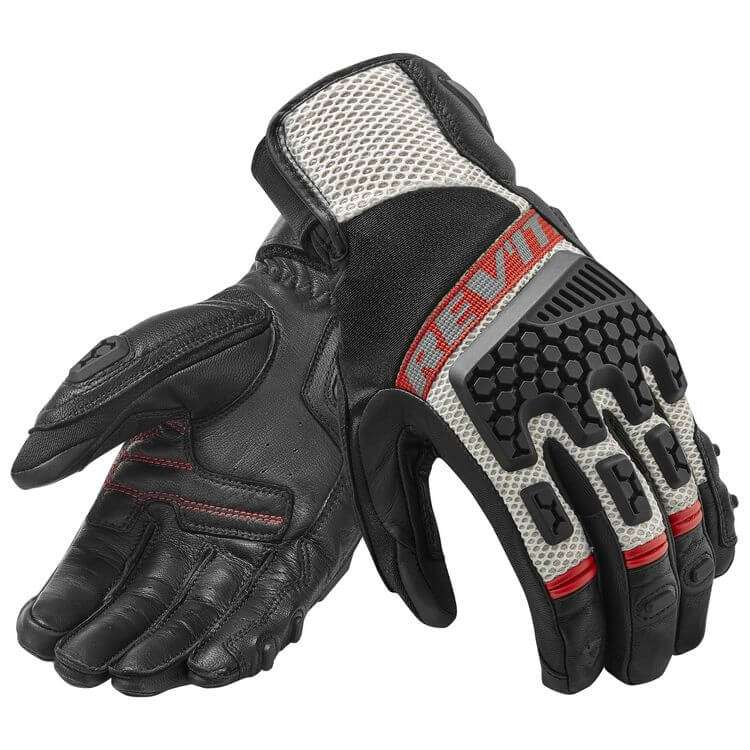 Revit sand 3 gloves red