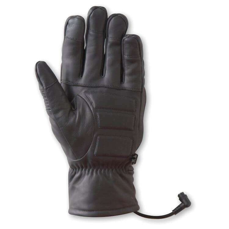 Back of Gerbing 12V Hero Heated Motorcycle Gloves
