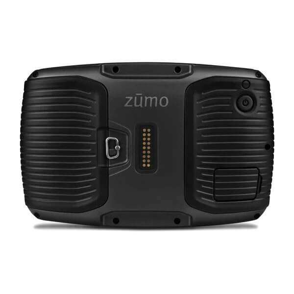 Garmin Zumo 505LM Back
