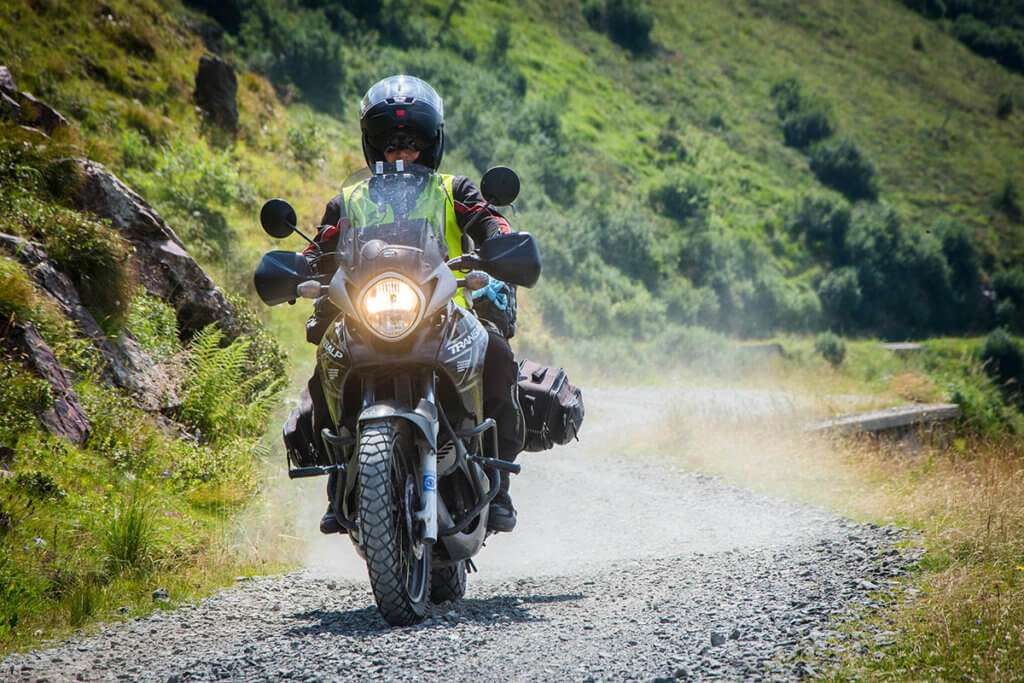 Riding on unknown roads